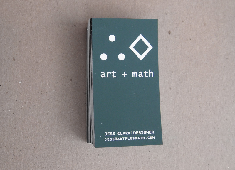 art+math cards x Bearded Lady